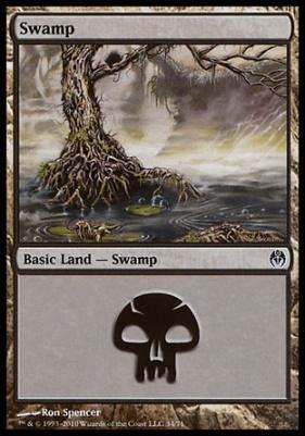 Duel Decks: Phyrexia Vs. The Coalition: Swamp (34 C)
