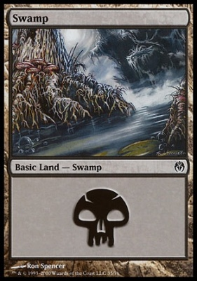 Duel Decks: Phyrexia Vs. The Coalition: Swamp (35 D)