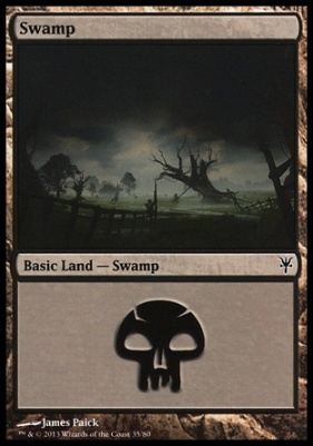 Duel Decks: Sorin Vs. Tibalt: Swamp (35 A)