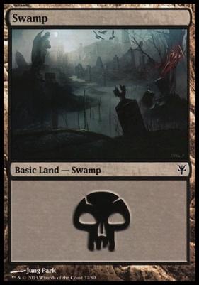 Duel Decks: Sorin Vs. Tibalt: Swamp (37 C)