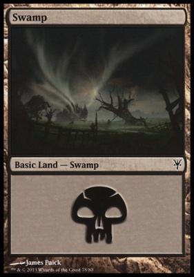 Duel Decks: Sorin Vs. Tibalt: Swamp (78 D)