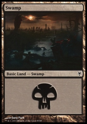 Duel Decks: Sorin Vs. Tibalt: Swamp (80 F)