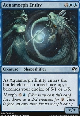 Duel Decks: Speed Vs. Cunning: Aquamorph Entity