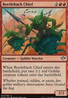 Duel Decks: Speed Vs. Cunning: Beetleback Chief