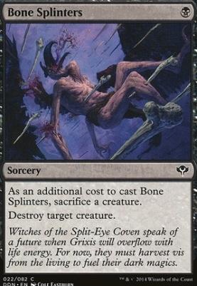 Duel Decks: Speed Vs. Cunning: Bone Splinters