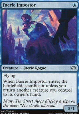 Duel Decks: Speed Vs. Cunning: Faerie Impostor