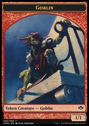 Duel Decks: Speed Vs. Cunning: Goblin Token