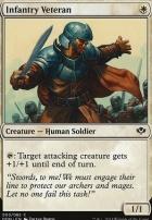 Duel Decks: Speed Vs. Cunning: Infantry Veteran