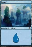 Duel Decks: Speed Vs. Cunning: Island (77 C)