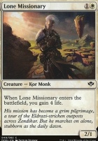 Duel Decks: Speed Vs. Cunning: Lone Missionary