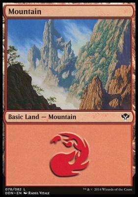 Duel Decks: Speed Vs. Cunning: Mountain (78 D)