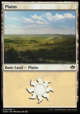 Duel Decks: Speed Vs. Cunning: Plains (38 A)