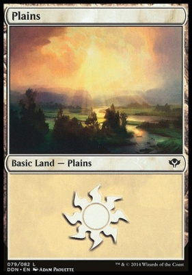 Duel Decks: Speed Vs. Cunning: Plains (79 B)