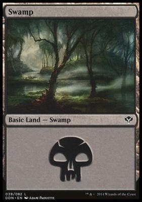 Duel Decks: Speed Vs. Cunning: Swamp (39 A)