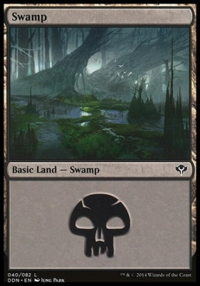 Duel Decks: Speed Vs. Cunning: Swamp (40 B)