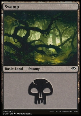 Duel Decks: Speed Vs. Cunning: Swamp (41 C)