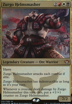 Duel Decks: Speed Vs. Cunning: Zurgo Helmsmasher