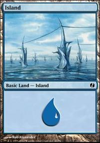Duel Decks: Venser Vs. Koth: Island (41 A)