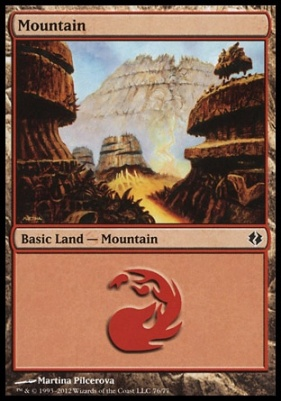Duel Decks: Venser Vs. Koth: Mountain (76 C)