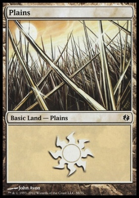 Duel Decks: Venser Vs. Koth: Plains (38 A)