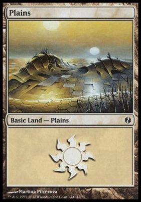 Duel Decks: Venser Vs. Koth: Plains (40 C)