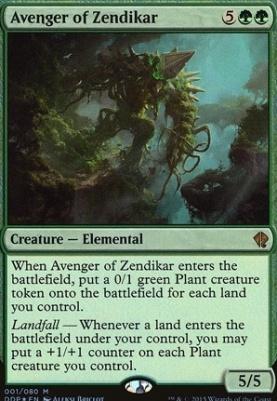 Duel Decks: Zendikar Vs. Eldrazi: Avenger of Zendikar (Foil)