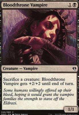 Duel Decks: Zendikar Vs. Eldrazi: Bloodthrone Vampire