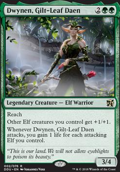 Duel Decks: Elves Vs. Inventors: Dwynen, Gilt-Leaf Daen