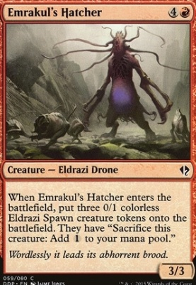 Duel Decks: Zendikar Vs. Eldrazi: Emrakul's Hatcher