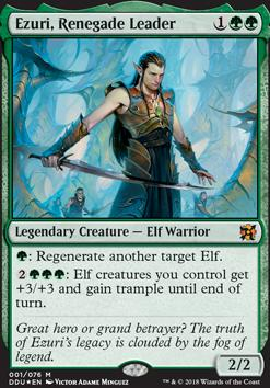 Duel Decks: Elves Vs. Inventors: Ezuri, Renegade Leader (Foil)