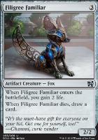 Duel Decks: Elves Vs. Inventors: Filigree Familiar