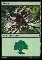 Duel Decks: Zendikar Vs. Eldrazi: Forest (40 C)