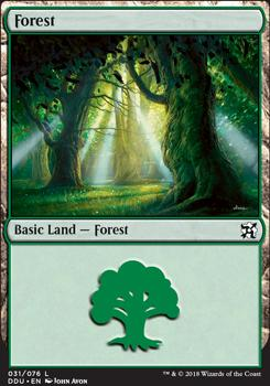 Duel Decks: Elves Vs. Inventors: Forest (31 A)