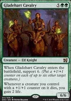 Duel Decks: Elves Vs. Inventors: Gladehart Cavalry