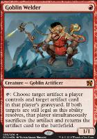 Duel Decks: Elves Vs. Inventors: Goblin Welder (Foil)