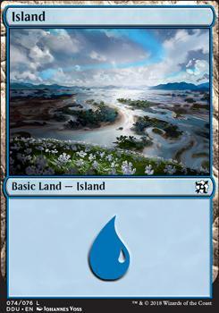 Duel Decks: Elves Vs. Inventors: Island (74 B)
