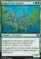 Duel Decks: Elves Vs. Inventors: Jagged-Scar Archers