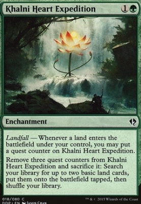 Duel Decks: Zendikar Vs. Eldrazi: Khalni Heart Expedition
