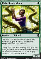 Duel Decks: Elves Vs. Inventors: Kujar Seedsculptor