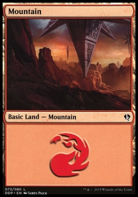 Duel Decks: Zendikar Vs. Eldrazi: Mountain (73 A)