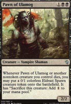 Duel Decks: Zendikar Vs. Eldrazi: Pawn of Ulamog