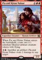 Duel Decks: Elves Vs. Inventors: Pia and Kiran Nalaar