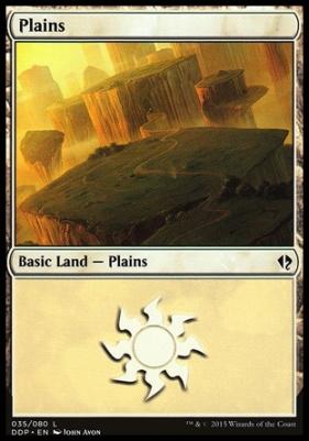 Duel Decks: Zendikar Vs. Eldrazi: Plains (35 A)