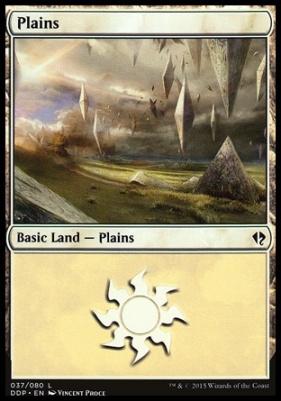 Duel Decks: Zendikar Vs. Eldrazi: Plains (37 C)