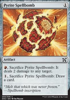 Duel Decks: Elves Vs. Inventors: Pyrite Spellbomb