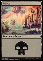Duel Decks: Zendikar Vs. Eldrazi: Swamp (70 A)