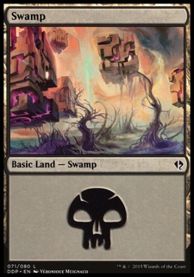 Duel Decks: Zendikar Vs. Eldrazi: Swamp (71 B)
