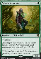Duel Decks: Elves Vs. Inventors: Sylvan Advocate