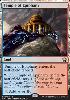 Duel Decks: Elves Vs. Inventors: Temple of Epiphany