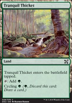 Duel Decks: Elves Vs. Inventors: Tranquil Thicket